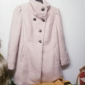 Guess Wool Blend Winter Coat Size Small